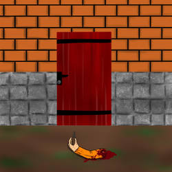 SCP-004 - The 12 Rusty Keys and the Door by maxalate