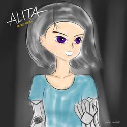 ALITA BATTLE ANGEL by maxalate