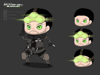 Splinter Cell Blacklist - SAM FISHER by maxalate