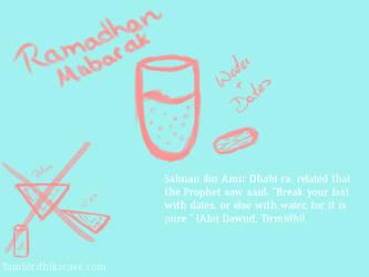 Ramadhan Tip by Mu610