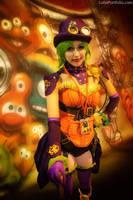 Steampunk Duela Dent by ColinPortfolio