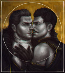 Cullen/Dorian by Luerro