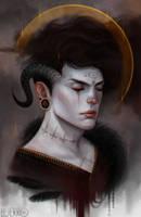 Portrait by Luerro