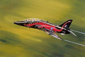 RAF Hawk painting by gregbajor