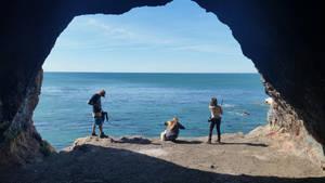 cave landing by calvincanibus