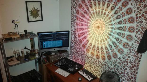 home studio by calvincanibus
