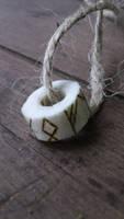 Antler Runespell Ring by Troll-Blood