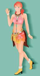 Vanille (Final Fantasy 13) by Akumeoi
