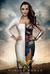 Diana Prince/Wonder Woman Poster by BeyondityArt