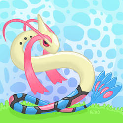 Milotic by VaderKitty