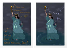 Statue of Liberty Posters by curiousdoodler