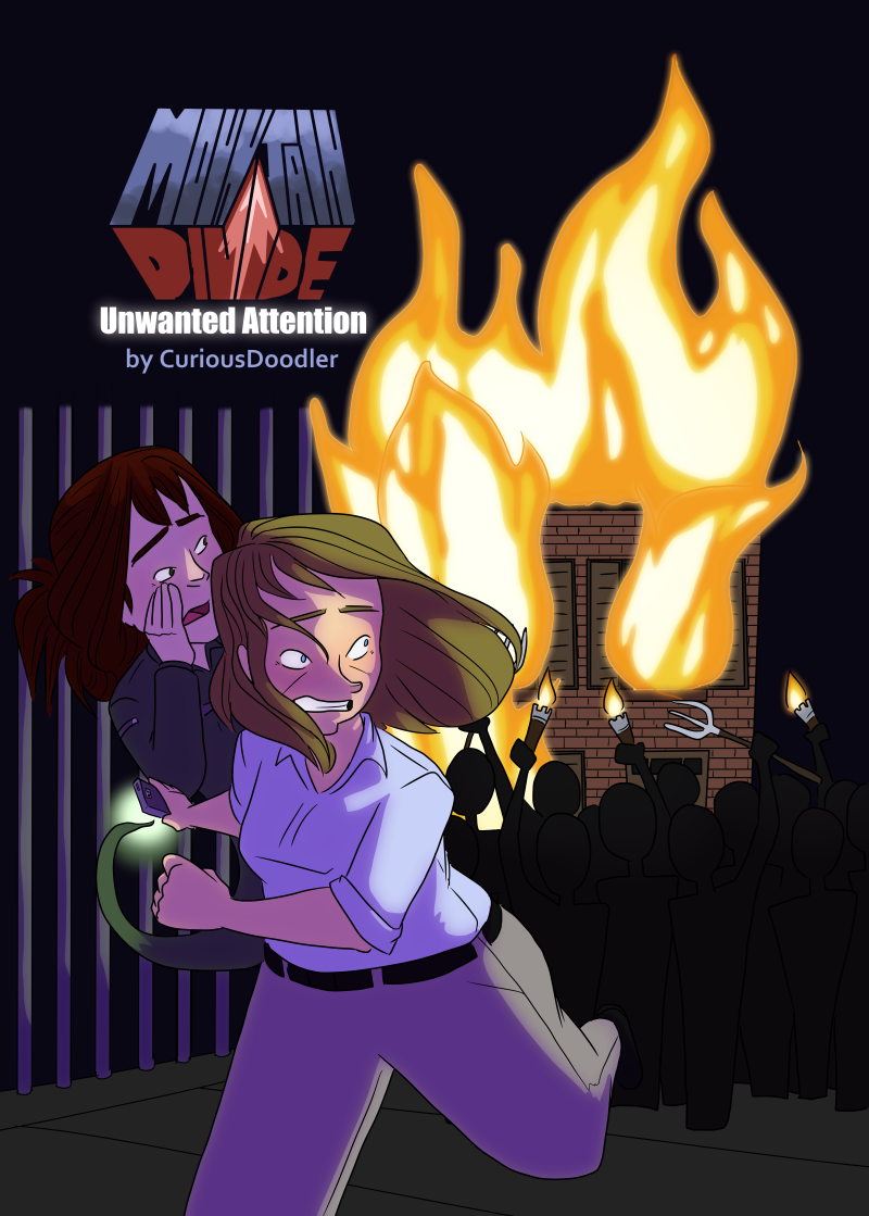 Mountain Divide - Book 2 - Cover Art by curiousdoodler