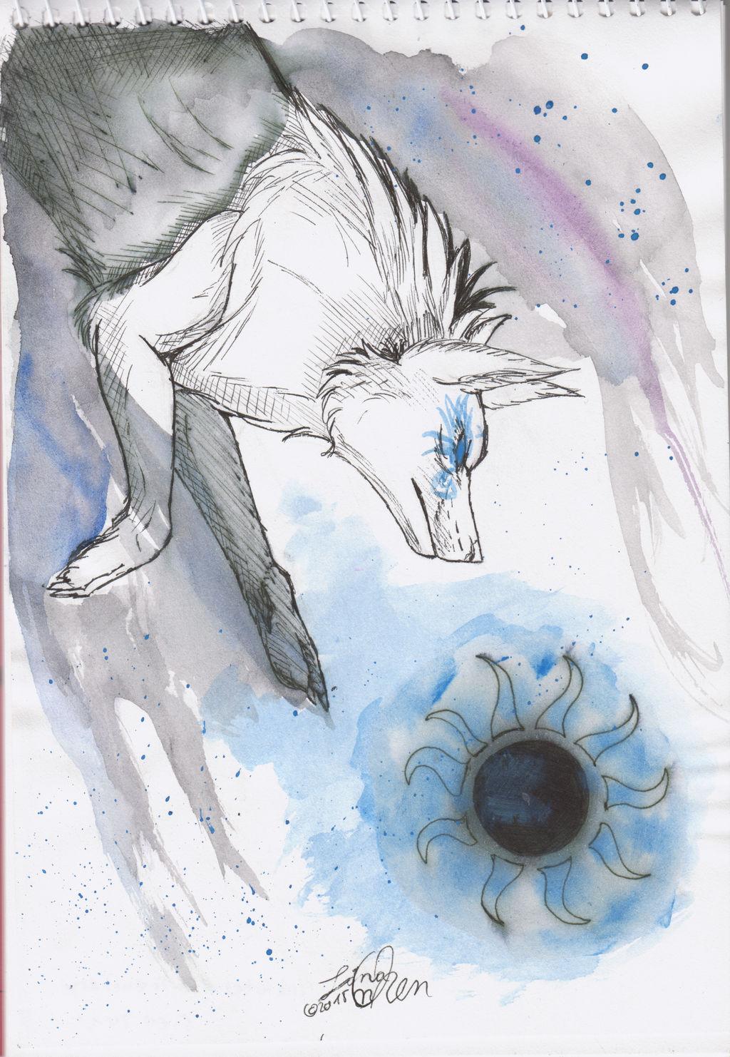 Inktober #5 - Treachery by Nychata