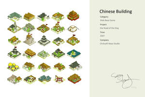 Chinese Building by cseec