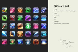 DG Sword Skill by cseec