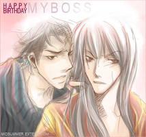 XS : Yukata Boss' birthday by kimimosuki
