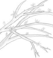 MonoTone Branches by AtticusBlackwolf