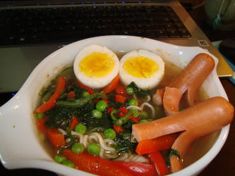 Cheap White Girl's Udon by AtticusBlackwolf