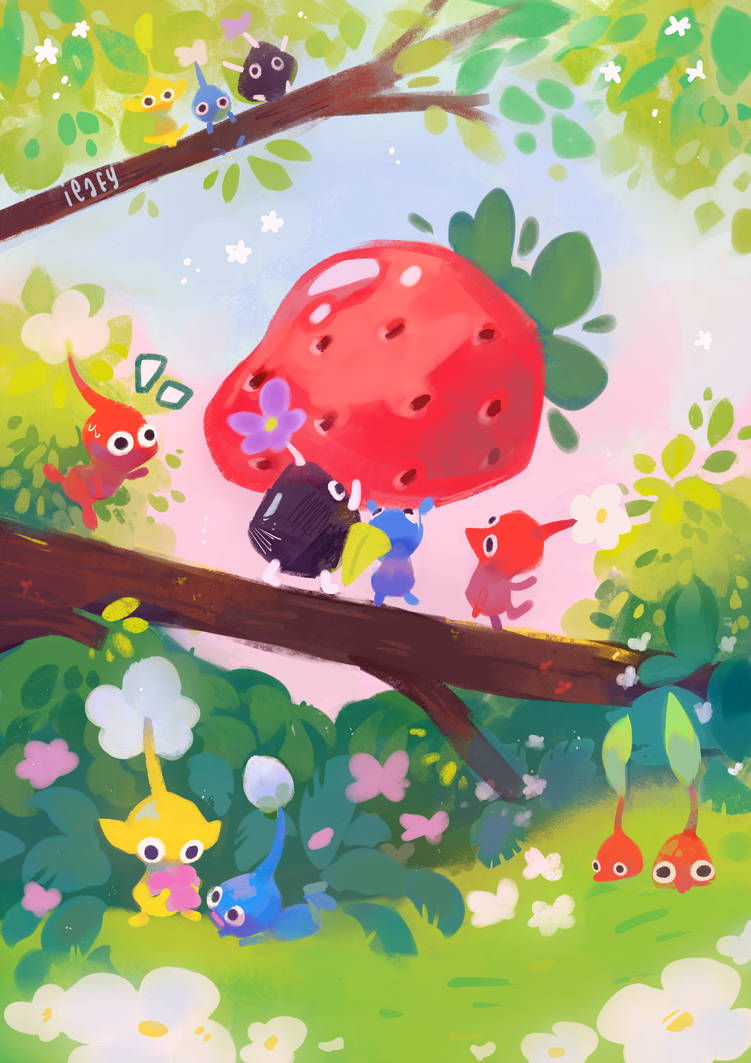 Pikmin by ieafy