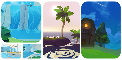 Wind Waker studies by ieafy
