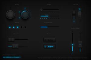 Tron UI Set by thiyagus15