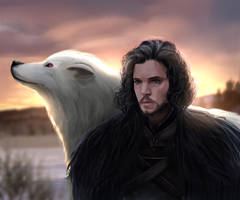 Jon Snow by Ruzel22