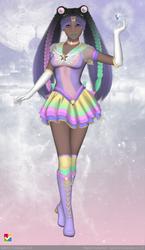 Sailor Senshi: ~Pastel Rainbow~ by LaKiraRee