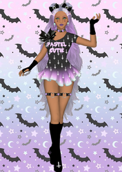 Sailor Senshi: Original ~Pastel Goth~ by LaKiraRee