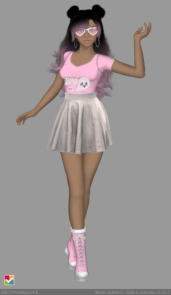Sailor Senshi: Original ~Kawaii Boo~ by LaKiraRee