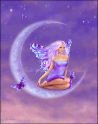 Lavender Moon by twosilverstars