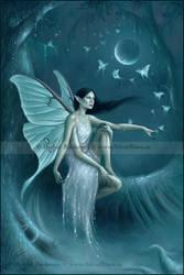 luna moth by twosilverstars