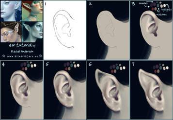 ear tutorial by twosilverstars