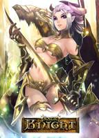 Magic Knight: Ixiria the Wyrmborn Lv2 by PursuerOfDarkness