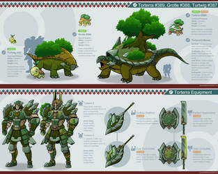 Pokemon Hunter: Torterra by PursuerOfDarkness