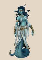 Commission: Medusa by PursuerOfDarkness