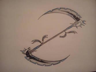 Art Trade - OC weapon by ilovemajinbuu