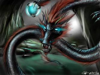 Japanese dragon by SvPolarFox