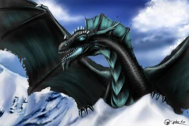 black dragon by SvPolarFox
