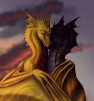 Embrace by Ferrety-Lixciaa