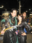 CCC2012: Loki and Black Widow by Blackout-Resonance