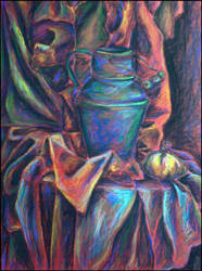 Still life with ewer by wholy