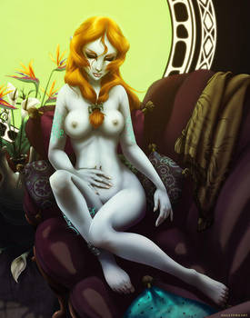 Are not legend of zelda midna nude can not
