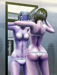 Mass Effect: Shepard's Present by ghostfire
