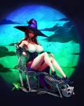 Dragon's Crown: Mistress of Bones by ghostfire