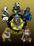 Star Citizen Parody Advertisement - Repair Bear by ghostfire