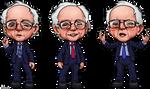 Bernie Sanders Caricatures by ghostfire