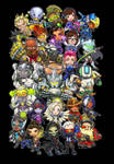 Overwatch : Overly Watchful Heroes by ghostfire
