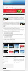 Carbon One Page Portfolio v2 by peex