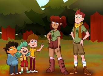 Camp Camp by TurquoiseGirl35