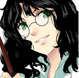 Harriet Potter + Wand by SlyGoddess